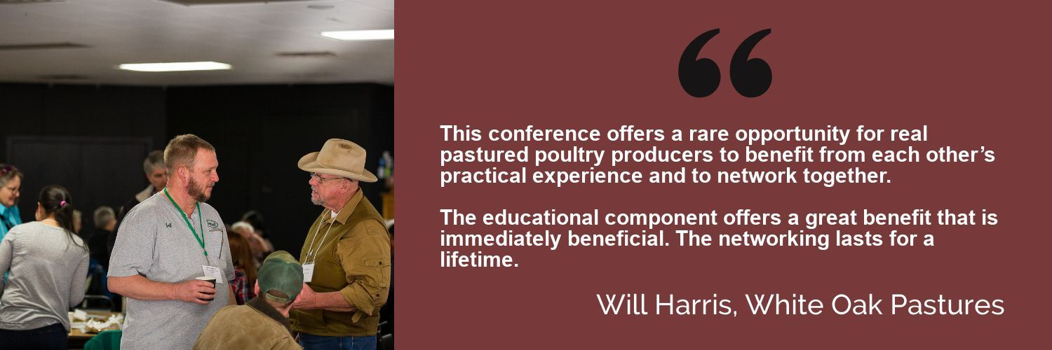 Will Harris conference testimonial